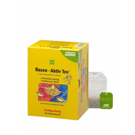 Salus Bio Basen-Aktiv Tee Nr. 2, Filterbeutel