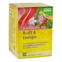 Salus Bio Bachblommor-te Kraft & Energi, filterpåsar