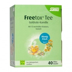 Salus Bio Detox-te Nr. 2, filterpåsar