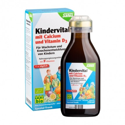 Salus, Floradix kindervital pour enfants avec calcium