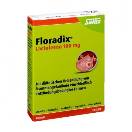 Floradix Lactoferrin 100 mg (30 Kapseln)