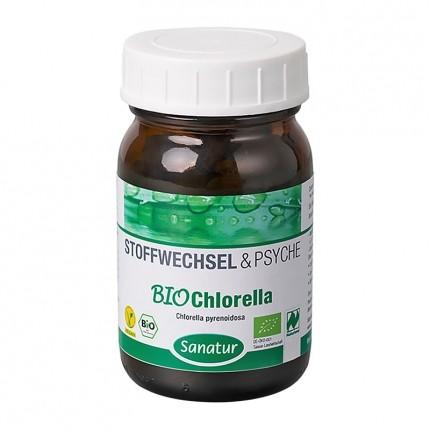 Sanatur Chlorella Mikroalger, tabletter