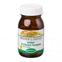 Sanatur SpiruB Vitamin B Complex Capsules