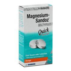 Magnesium-Sandoz Quick Minerals, Lutschtabletten