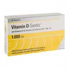 Sandoz, Osteo complex vitamine D, gélules