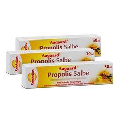 3 x Sanhelios Aagaard Propolis, Salbe
