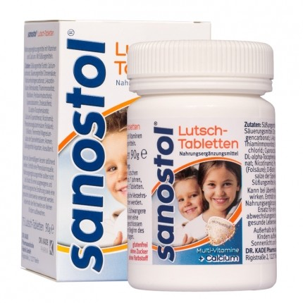 Sanostol Lutsch-Tabletten