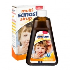 Multi-Sanostol Sirup ohne Zuckerzusatz