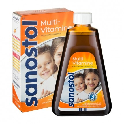 Sanostol Multi-Vitamine, Sirup