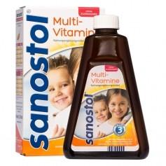 Sanostol, Multivitamines sans sucres ajoutés