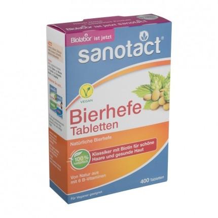 2 x sanotact bierhefe tabletten mit thiamin biotin nu3. Black Bedroom Furniture Sets. Home Design Ideas