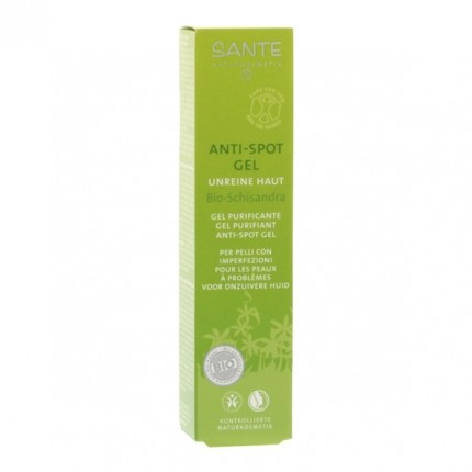 Santé Anti-Spot Gel Bio-Schisandra für unreine Haut