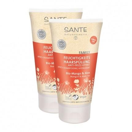 SANTE Family Feuchtigkeits Haarspülung, Mango-Aloe
