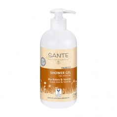 Santé Family Shower Gel Organic Coco & Vanilla