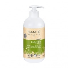Santé Family Shower Gel Organic Pineapple & Lemon