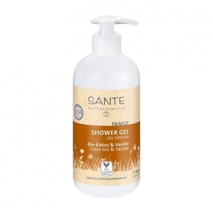 Santé Family Showergel Økologisk Coco & Vanilla