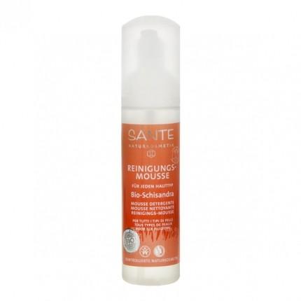 SANTE Reinigungs-Mousse Bio-Schisandra für jeden Hauttyp