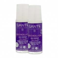 Santé Deo Roll-On Açai Energy mit Bio-Acai Doppelpack