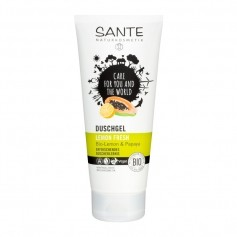 Santé Shower Gel Lemon Fresh with Bio-Lemon & Papaya