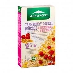 Schneekoppe Cranberry Dinkel Müesli