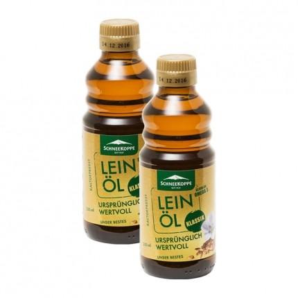 Schneekoppe Leinöl (2 x 250 ml)