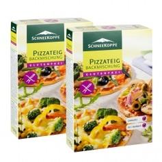 2 x Schneekoppe Pizzateig Backmischung