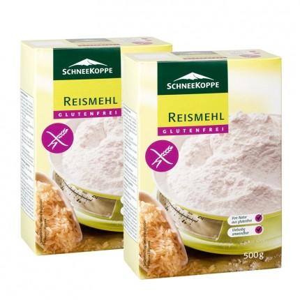 Schneekoppe Reismehl (2 x 500 g)