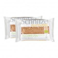 2 x Schnitzer Buchweizen Bio-Schnitten