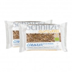 2 x Schnitzer Canihua Active-Mineral Bio-Kürbiskernschnitten