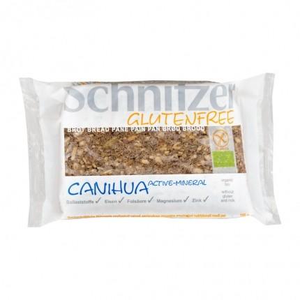 Schnitzer Canihua Active- Mineral Kuerbiskernschnittbrot, glutenfrei