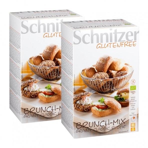 2 X Schnitzer Bio Maisbrötchen, Glutenfrei