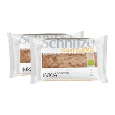 2 x Schnitzer Inka Øko-Skiver