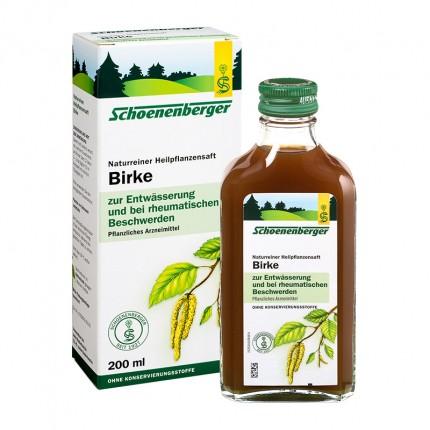Schoenenberger Birch Juice