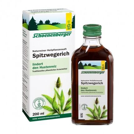Schoenenberger, Jus de platain