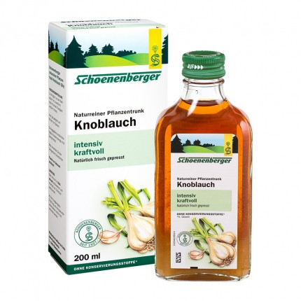 Schoenenberger Knoblauch, Saft (200 ml)