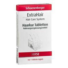 Schoenenberger Naturkosmetik, ExtraHair, cure capillaire en comprimés