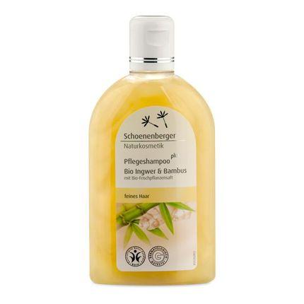 Schoenenberger Naturkosmetik Pflegeshampoo plus Bio Ingwer & Bambus