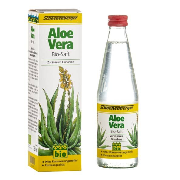 Schoenenberger Aloe Vera Organic Juice High Quality