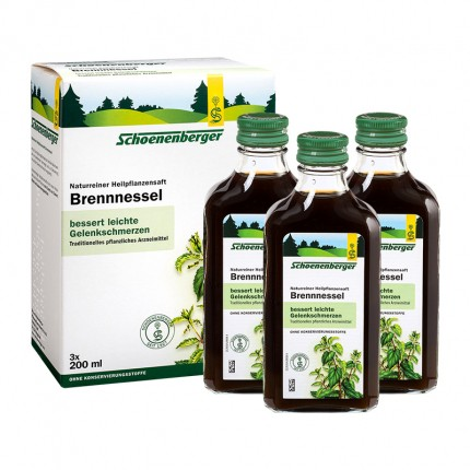 Schoenenberger Stinging Nettle Juice