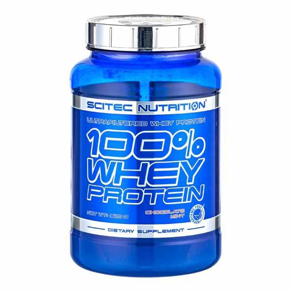 Scitec 100 Whey Protein Chocolate Mint Powder Protein