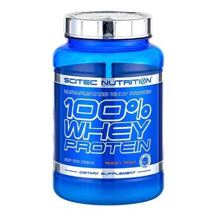 Scitec, 100% Protéines de lactosérum Rocky Road, poudre