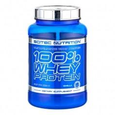 Scitec 100% Whey Protein Vanilj, pulver