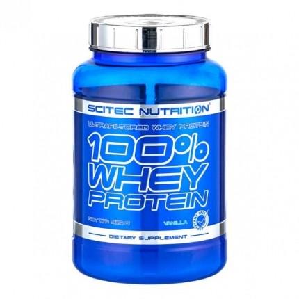 Scitec 100% Whey Protein Vanilje, pulver