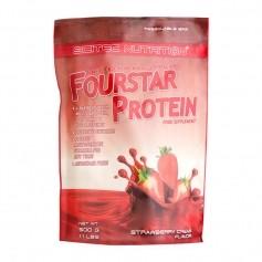 Scitec Fourstar Protein Erdbeer-Sahne, Pulver