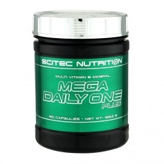 Scitec Mega Daily One Plus, kapslar