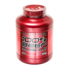 Scitec Beef Muscle Vanille Sahne, Pulver