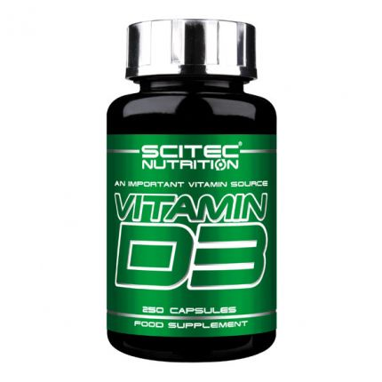 Scitec Vitamin D3, Kapseln