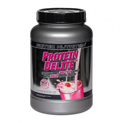 Scitec Protein Delite Erdbeere-Weiße Schoko, Pulver