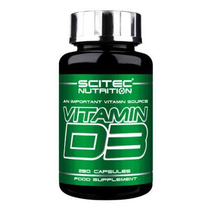 Scitec Vitamin D3, kapsler