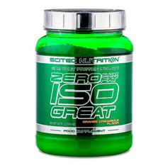 Scitec Zero Sugar Zero Fat Isogreat Orange, Pulver